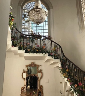 flowers, staircase and beautiful