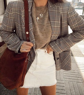 business, blazer and model