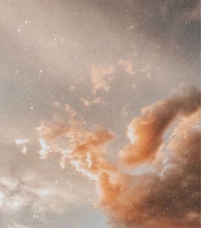 clouds, aesthetic and golden