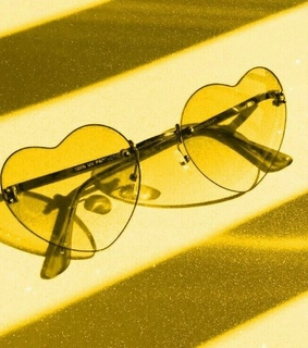 yellow, glasses and sunglasses