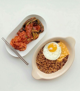 eggs, simple and asian