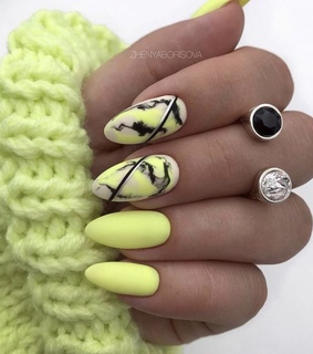 girls beauty, nails and yellow nails