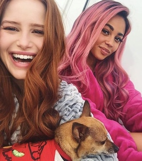 friends, girls and pink