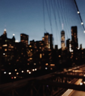 city lights, city and new york