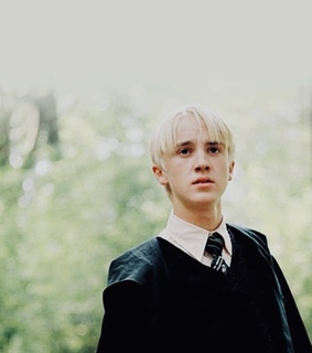 draco malfoy, potter and ?