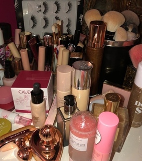 cosmetics, hudabeauty and makeup collection