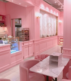 girly, bakery and diner
