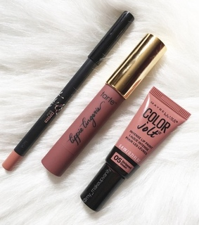 Maybelline, matte and tarte