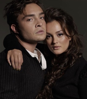 ed westwick, blair waldorf and chuck and blair