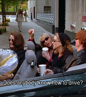 drive, sex and the city and tv serie