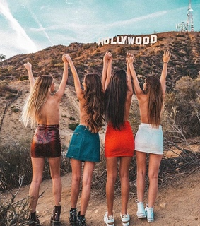 hollywood, happy and tourism
