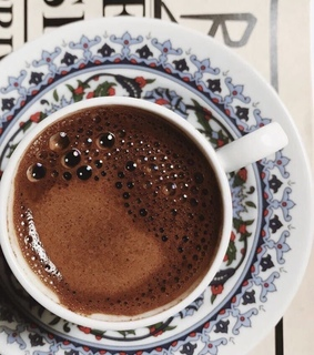 latte, turkish coffee and moroccan
