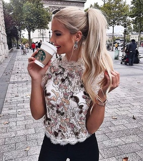 coffee, happiness and fashion