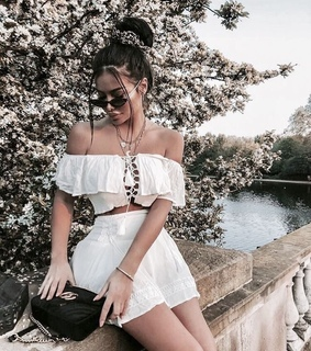 hairstyle, white and sunglasses