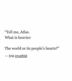 hearts, tell me and what