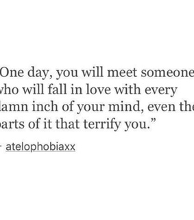 one day, meet and kiss