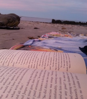 beach, happy and twilight