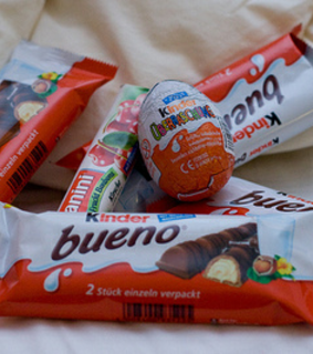 kinder and bueno