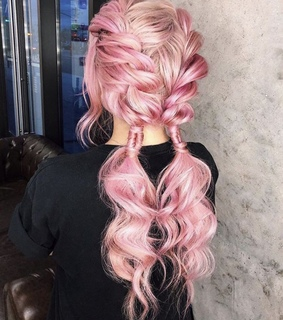 hairstyles, braids and long hair