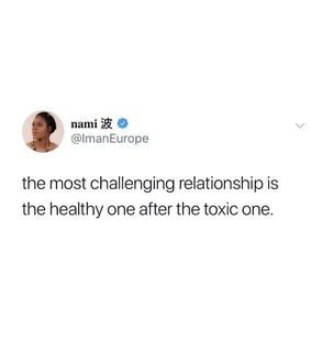 healthy, Relationship and toxic