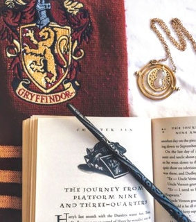 wand, aesthetic and harry potter