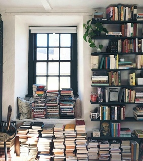 library, literature and 1st apartment