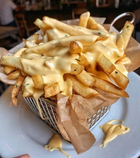 snack, tasty and French Fries