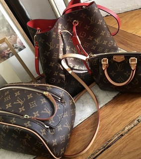 Louis Vuitton, bagages and vanity