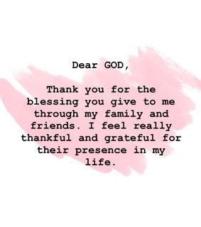 thank you, friends and family