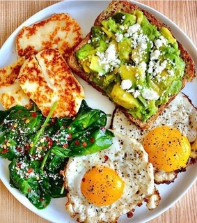 healthy, proteina and breakfast