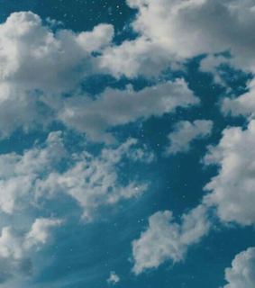 ????????, clouds and stars