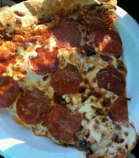 meat, fast food and pizza