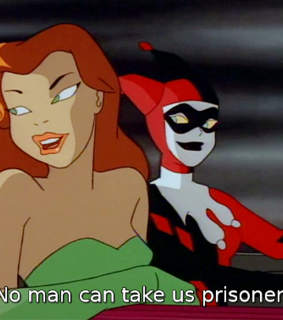 poisonivy, comic and mad