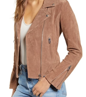 Nordstrom, fashion and leather jacket