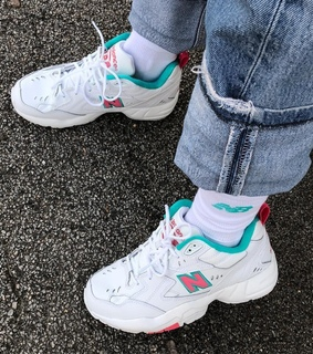dadshoes, streetwear and pink