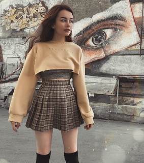 cute, grunge and plated skirt