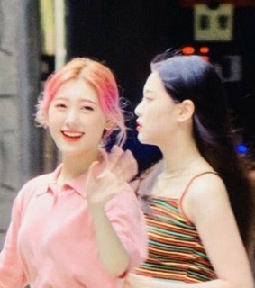 pink, choerry and kpop