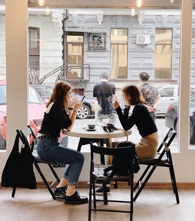 people, pale and cafe