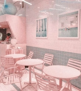 pastel, pink and pub