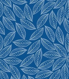 navy, leaves and pattern