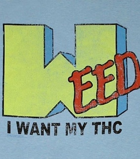 want, blue and weed