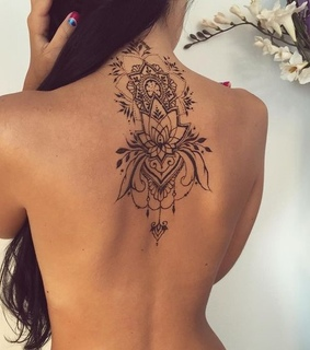 back tattoos, details and Tattoos