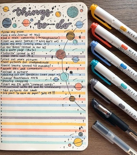 bujo, todo and list
