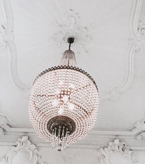 chandelier, luxury and lights