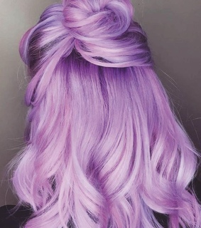 hair color, colored hair and bun