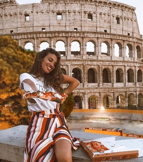 colosseum, fashion and rome