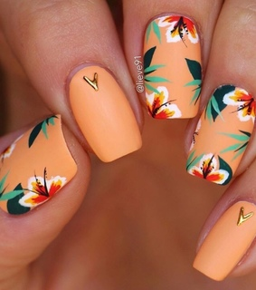 nail art, nails and summer nails