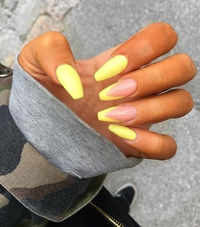 vogue, nails ideas and neon