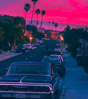 wallpapers, atardecer and carros