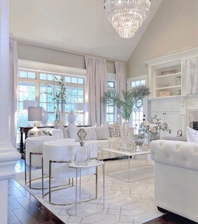 glam, house goals and room decor
